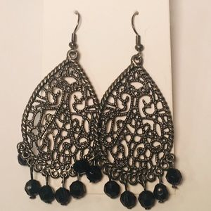 Jewelry - 4 for $12: Black Earrings